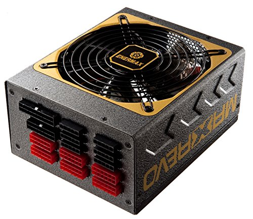 Enermax EMR1500EWT Maxrevo 1500W SLI CrossFire Ready 80+ GOLD Certified Full Modular Active PFC Power Supply by Enermax