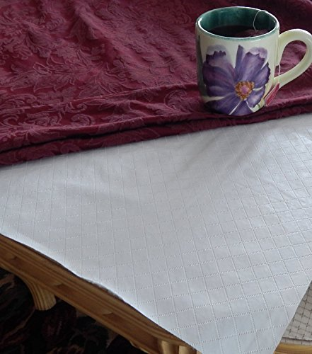 Quilted Flannel Backed Table Pad by Elrene