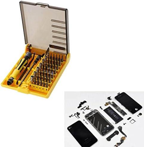 Juego de Destornilladores de precisión 45 en 1 para reparación de Pinzas, Caja de Herramientas electrónica, Puntas de Destornillador para iPhone: Amazon.es: Juguetes y juegos
