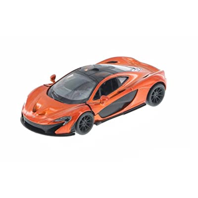 KiNSMART KT5393D - MCLAREN P1 (Orange): Toys & Games