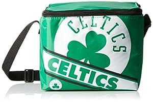 FOCO Boston Celtics Big Logo Stripe 6 Pack Cooler