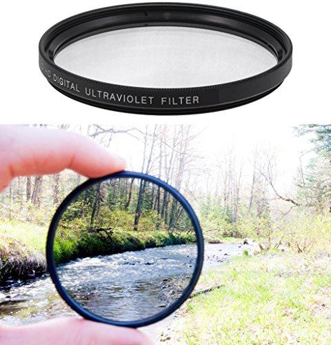 Price comparison product image Professional High Definition 58mm Clear Digital Ultra Violet UV Filter for Canon VIXIA HF G20