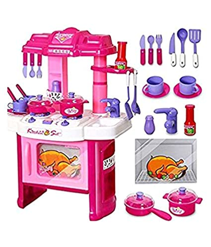 Buy Vbe Kitchen Set For Girls Online At Low Prices In India Amazon In