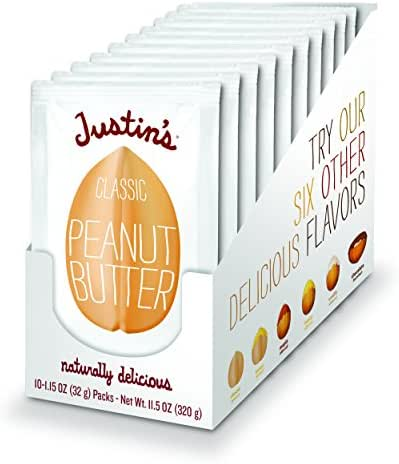 Peanut & Nut Butters: Justin's Peanut Butter Squeeze Packs