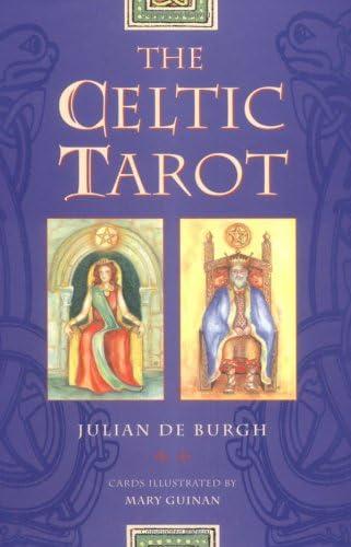 The Celtic Tarot: Instruction Book: De Burgh, Julian, Guinan, Mart:  Amazon.com.au: Books