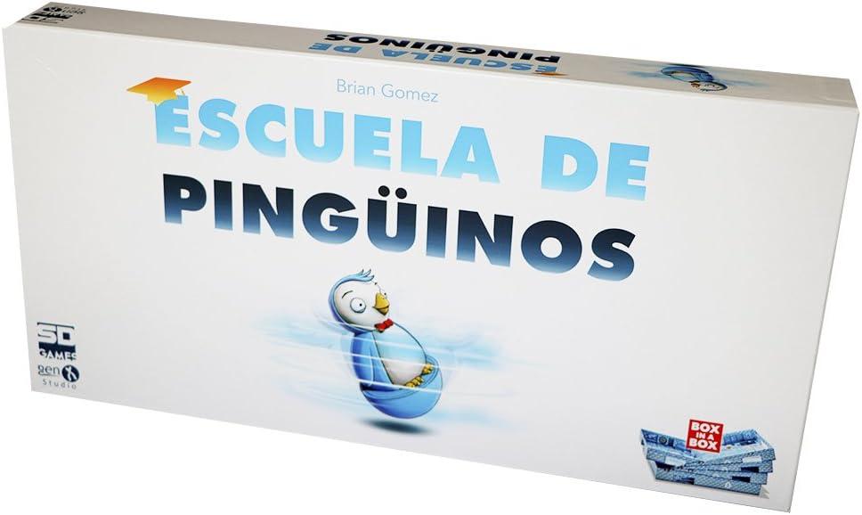 SD Games - Escuela de pingüinos, Juego de Mesa (SDGESCPIN01)
