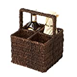 Woodard & Charles Abaca 4-Section Condiment Caddy