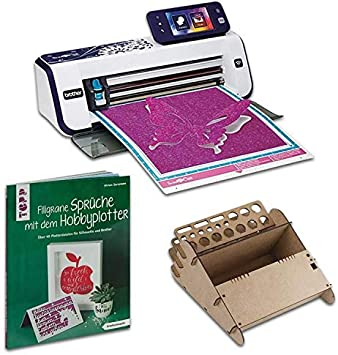 HobbyPlotter Plóter Brother Bundle scann Cut CM900 Libro: Amazon.es: Electrónica