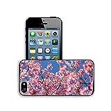 Luxlady Premium Apple iPhone 5 iphone 5S Aluminium Snap Case wild himalayan cherry IMAGE ID 25275856