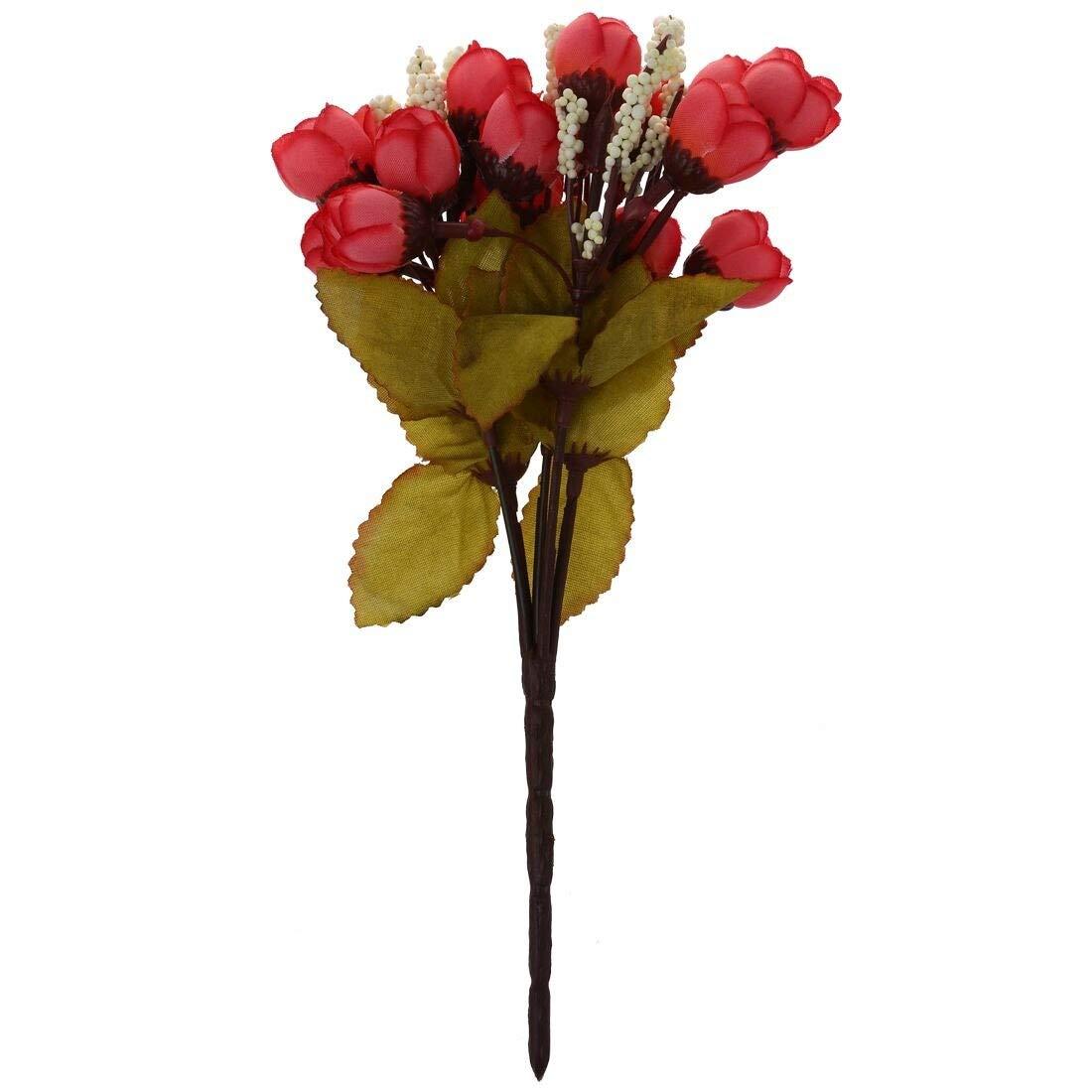 Artificial-Dried-Flowers-Silk-Cloth-Artificial-Flower-15-Heads-Mini-Rose-Home-Decor-Roses-Bouquet-Decoration-Dried-Artificial-Flowers-Artificial-Dried-Flowers-Gardenia-Flower-Bouquet-Chry