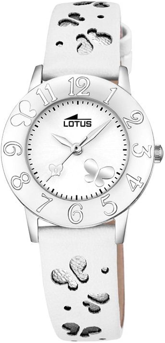 Lotus Reloj Analógico para Unisex de Cuarzo con Correa en Cuero 18269/1