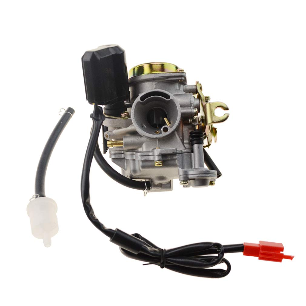Goofit Pd18 18mm Carburetor For 4 Stroke Gy6 49cc 50cc Wiring Diagram Electric Scooters Sale Chinese Scooter 139qmb Moped Taotao Kymco Jonway Baja Jmstar Lance Nst Peace