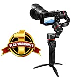 motorized gimbal - 45 Degrees 3-Axis Motorized Gimbal Handheld Stabilizer Fosicam FM1-45 For Sony A7R2 A7S A6300 A6500 Panasonic Lumix GH4 GH5 Nikon Canon mirrorless micro-DSLR cameras