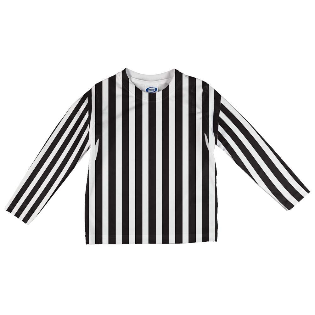 Old Glory Halloween Referee Costume All Over Toddler Long Sleeve T Shirt 00191119