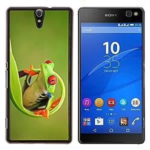Stuss Case / Funda Carcasa protectora - Verde feliz Naturaleza Animal Jungle - Sony Xperia C5 Ultra