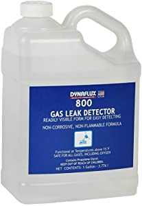 Dynaflux 800 Gas Leak Detector, 1-Gallon Bottle