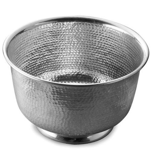 Hammered Punch Bowl by India Handicrafts (Image #1)