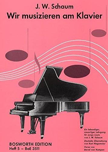 Wir Musizieren Am Klavier, Band 5: Buch für Klavier