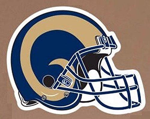 FATHEAD Los Angeles Rams Team Helmet Logo Official NFL Vinyl Wall Graphic 13