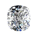 GIA Certified Natural 0.96 Carat Cushion Diamond with F Color & SI1 Clarity