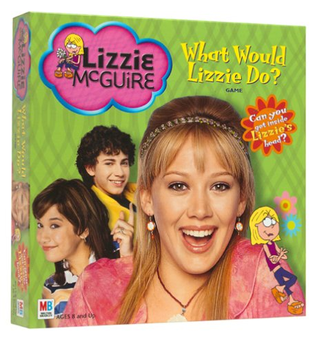 Milton Bradley Lizzie McGuire: What Would Lizzie Do? Game