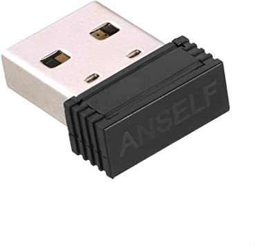 Anself USB Ant+Stick for Garmin Forerunner 310XT 405 610 Interior Negro Cargador de Dispositivo móvil