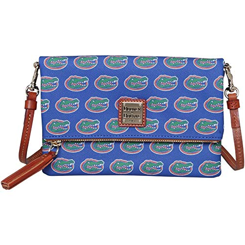 Dooney & Bourke NCAA Florida Foldover Crossbody Shoulder Bag