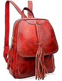 Women Leather Backpack Designer Backpack For Ladies Travel School Bag