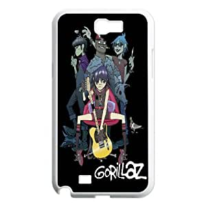 Generic Case Gorillaz Band For Samsung Galaxy Note 2 N7100 Z7AS117833
