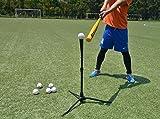 OUTROAD Baseball & Softball Batting Tee – Tripod Travel Tee w/ Carry Bag