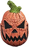 Ghoulish Productions Child Size Jack O'Lantern Mask Kids Scary Pumpkin Mask Halloween Latex Mask