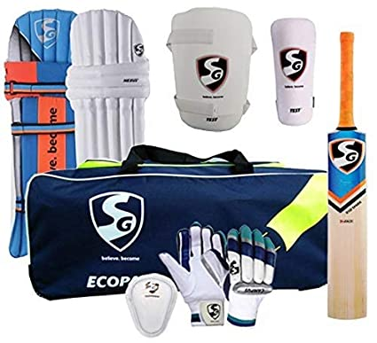 b15ee85d0 SG Sports Cricket Kit Complete Batting Accessories Ideal for Boys l Youth l  Adult l Senior
