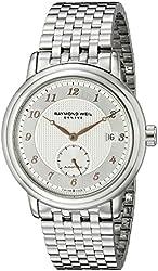 Raymond Weil Men's 2838-S5-05658 Maestro Analog Display Swiss Automatic Silver Watch