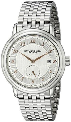 Raymond-Weil-Mens-2838-S5-05658-Maestro-Analog-Display-Swiss-Automatic-Silver-Watch
