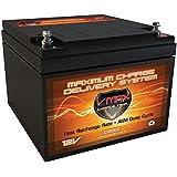 BD24-12 DMX12-24 CB12240 EVX12260 GP12240 CA12240 CP12-24 CPL12-26 DMH12-26 GP12260 12MD-26 GPL12260 12CE26 12VA26 12V 28Ah NB AGM Battery Replaces B-620 DHB12260 CB12250 BC-12260