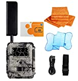 Spartan HD GoCam (4G AT&T Version, Model#GC-A4Gb, Blackout Infrared) 4G Wireless UTowel Bundle Deal...