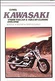 Kawasaki Vn800 Vulcan & Vulcan Classic, 1995-1998: Service, Repair, Maintenance