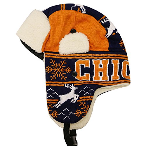 City Hunter W700 Snow Deer Trapper Hat Chicago