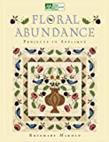 img - for Floral Abundance: Applique Designs Inspired by William Morris book / textbook / text book