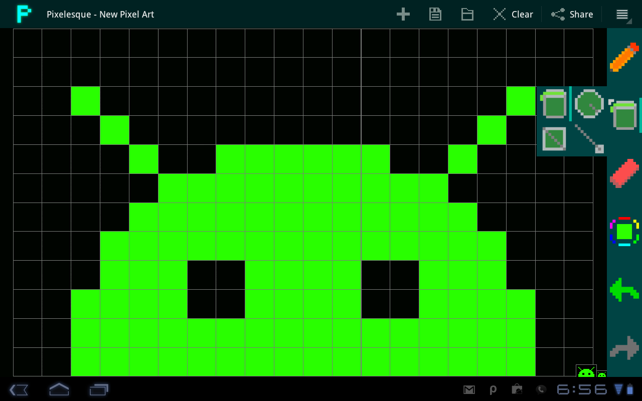 pixel art application for android