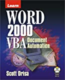 Learn Word 2000 Vba Document Automation