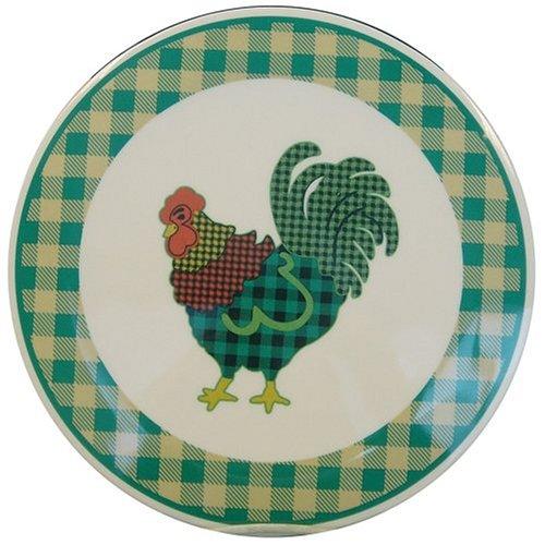Ingleman Designs Rooster Morn Melamine Trivet ()