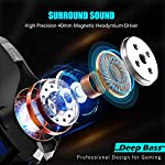 Gaming-Headset-for-PS4-Xbox-One-Comfort-Noise-Reduction-Crystal-Clarity-35mm-LED-Professional-Headphone-with-Mic-for-PC-Laptop-Tablet-Mac-Smart-Phone