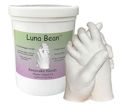 Buy luna bean keepsake hands plaster statue molding casting kit luna bean keepsake hands plaster statue molding casting kit solutioingenieria Image collections