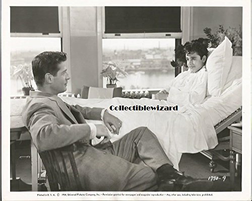Six Bridges To Cross George Nader, Sal Mineo - 8 x 10 inch Vintage Promo Photo 60+ years old