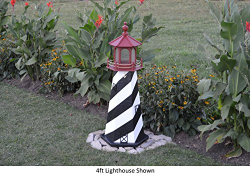 Backyard Crafts Amish-Made St. Augustine, FL Replica Lighthouse, 29