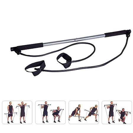 SJJOZZ Multifunción Yoga Portátil Pilates Stick Equipo de ...