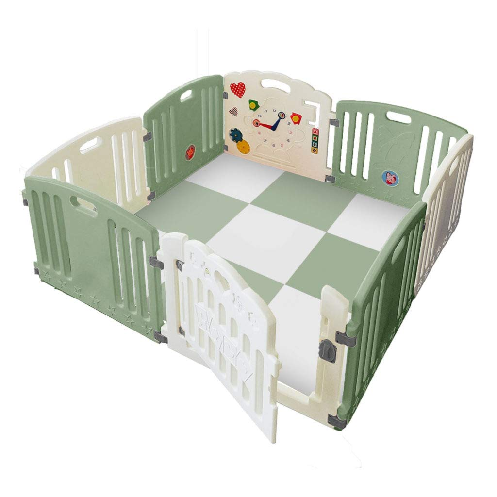 H's Playpen in Green
