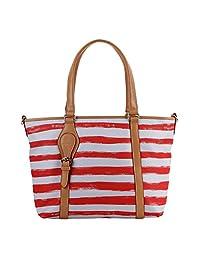Parlontis ®Nylon women's handbags Fashion casual shoulder Bag Messenger Bag Korean wild Nylon cloth--05 (orange sun (34*14*28cm))
