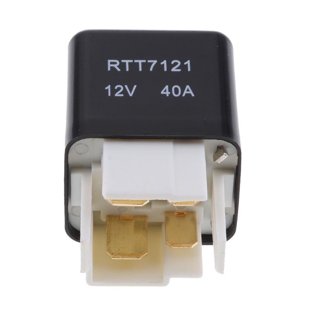 Rel/è 4 Pin RTT7121A 12V 40A Auto Car Relay